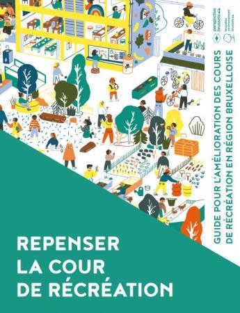 """Couverture du guide """"Repenser la cour de récréation"""""""