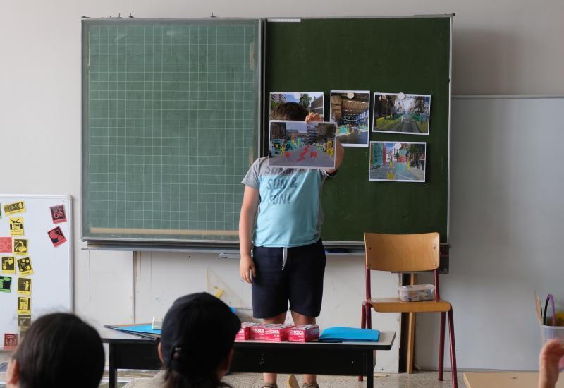 atelier avec les élèves de l