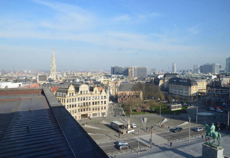 Vue de Bruxelles (Mont des arts)